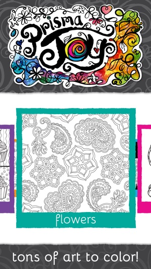PrismaJoy Coloring Book For Adults