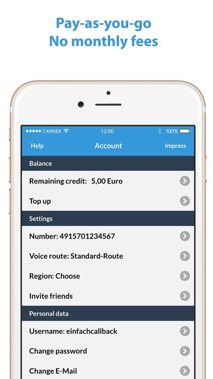 AppTeSună - Low-cost, local and international calls screenshot-4