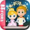 【無料版】シンデレラ ~ぬりえで遊べる赤ちゃん・子供向けのアニメで動く絵本アプリ:えほんであそぼ!じゃじゃじゃじゃん童謡シリーズ - iPhoneアプリ