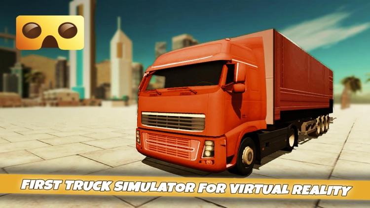 VR Truck Simulator : VR Game for Google Cardboard screenshot-0