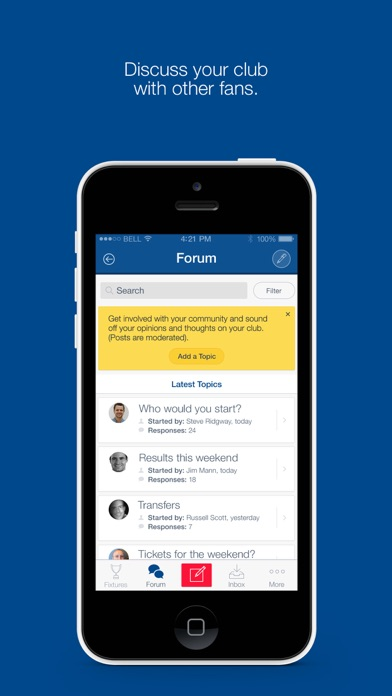Fan App for Rangers FC screenshot two