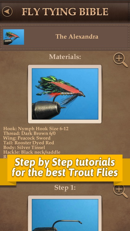 Fly Tying Bible Trout Flies - Step by Step Fishing Tutorials for Tying Pro Patterns screenshot-3