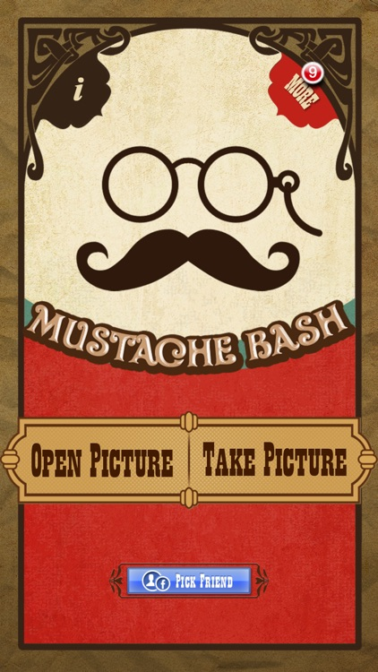 Mustache Bash Free screenshot-0