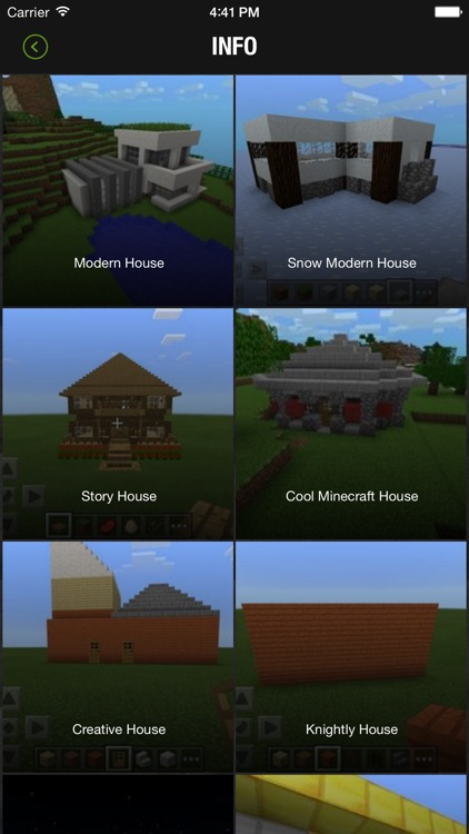 Houses For Minecraft - Build Your Amazing House! screenshot-1