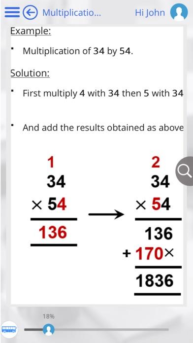Grade 4 Math by GoLearningBus screenshot three