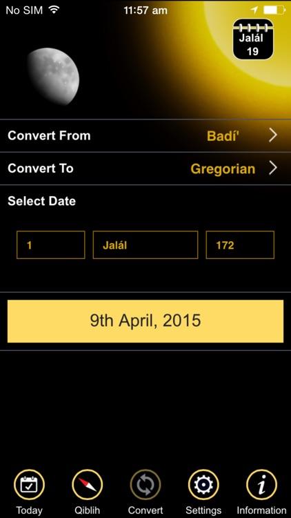 Badí' Calendar Plus screenshot-3