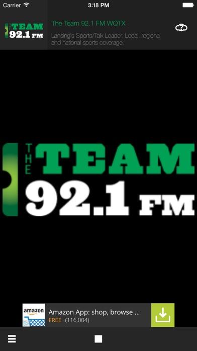Team 92.1FM screenshot one