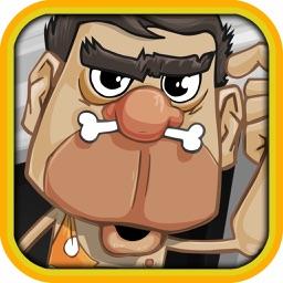 Caveman Stone in the Jungle Saga - Casino Vegas Slots Machine Game