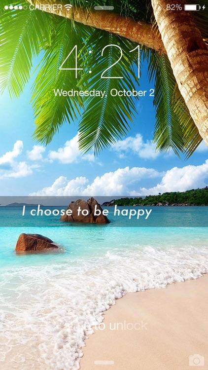 Master Mind - Lockscreen Affirmation Wallpapers and Voice Affirmations screenshot-4