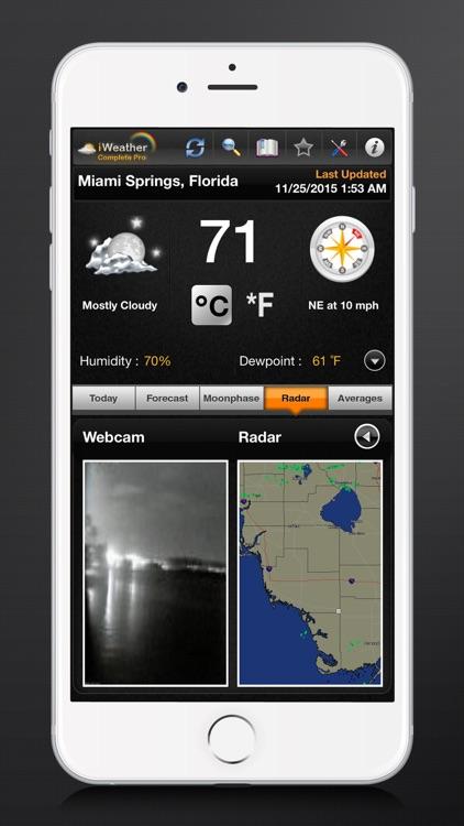 iWeather Complete Pro screenshot-3