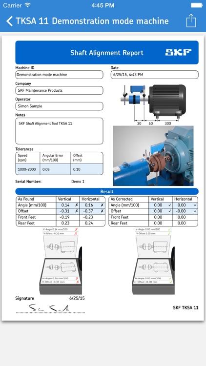 Shaft Alignment Tool TKSA 11 screenshot-4