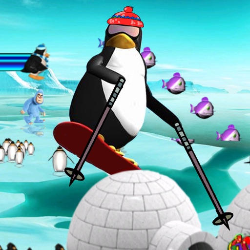 Super Penguin Ice Jump
