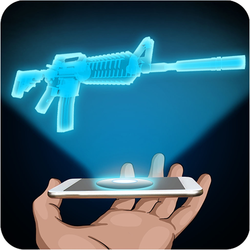 Hologram Rifle 3D Simulator