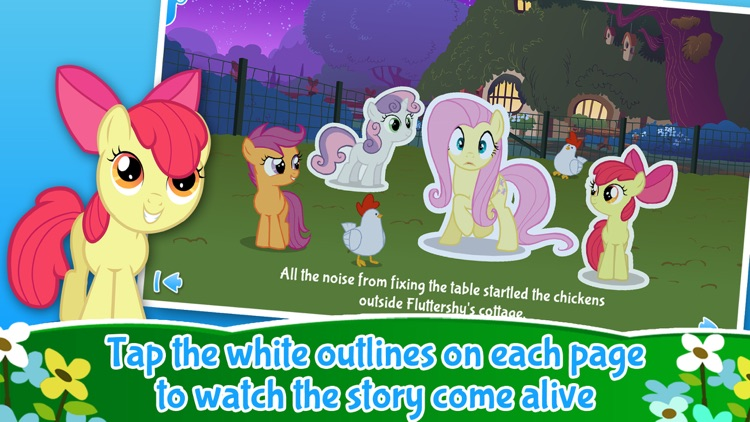 My Little Pony: Fluttershy's Famous Stare screenshot-1
