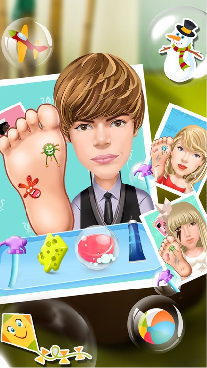 Hollywood Little Dentist & Doctor - free celebrity care & surgery games for kids and girls screenshot-3