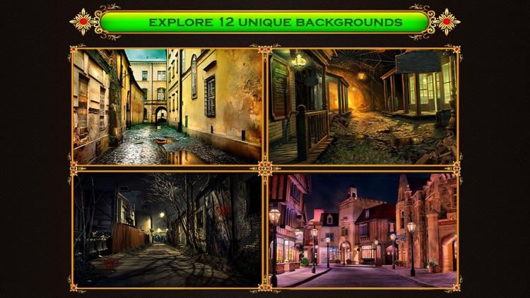 Mysterious City - Hidden Objects Fun screenshot-3