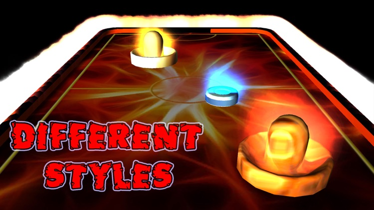 Air Hockey - War of Elements screenshot-3