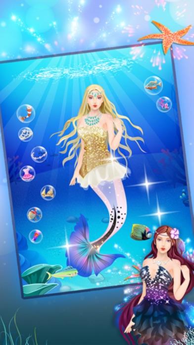 人魚サロン - 女の子ゲームのおすすめ画像3