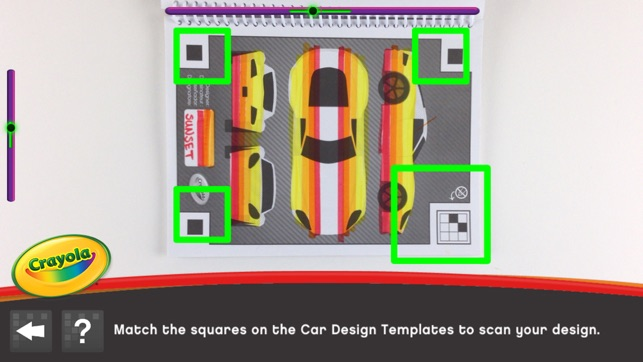 Crayola design drive on the app store for Virtual garage designer