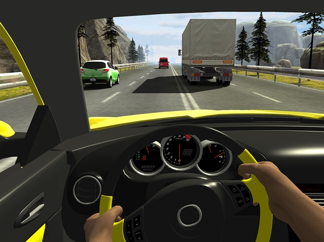 Racing In Car On The App Store