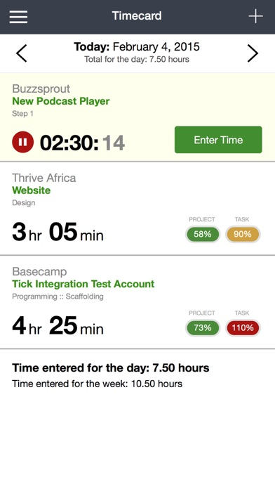 Tick (Time & Budget Tracking)