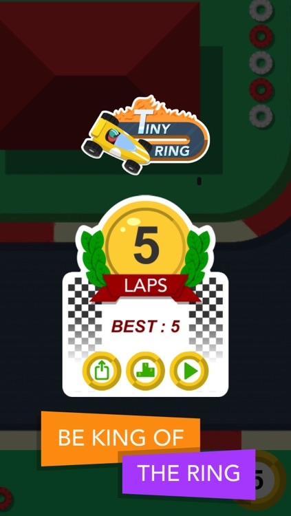Tiny Ring : one-touch racing challenge screenshot-4