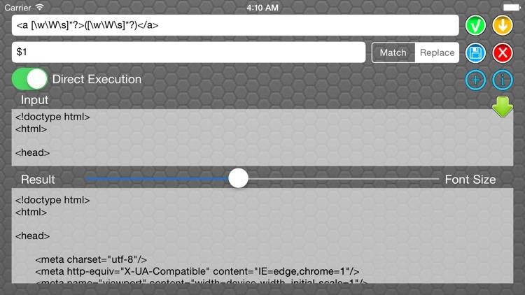 Regular Expression screenshot-3