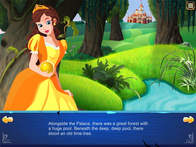 """The Frog Prince Story Book """"for iPad"""""""