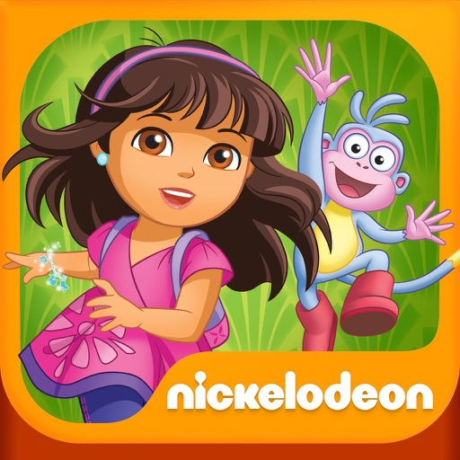 Dora and Friends Back to the Rainforest HD icon