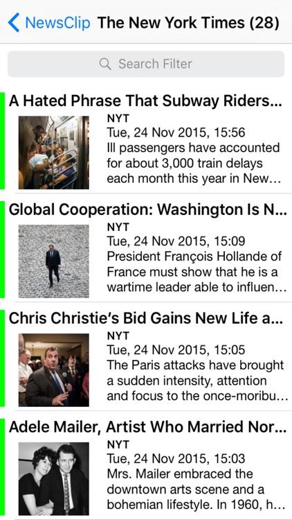 NewsClip - Personal News Reader