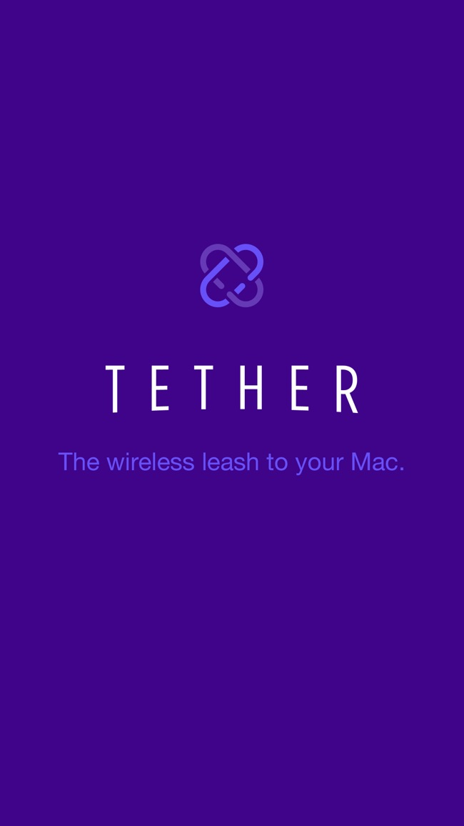 Tether - The wireless leash to your Mac. Screenshot