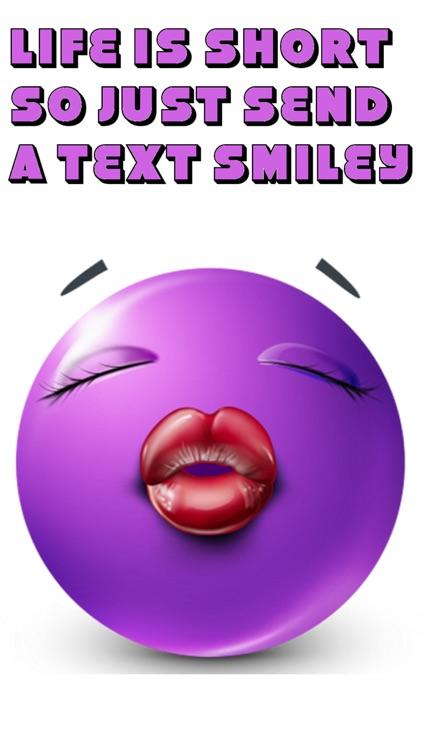 Purple Text Smileys Keyboard - New Emojis & Extra Emojis by Emoji World