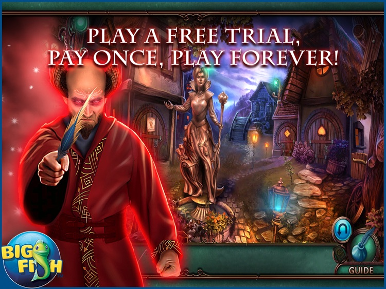 Nevertales: Smoke and Mirrors HD - A Hidden Objects Storybook Adventure screenshot-0