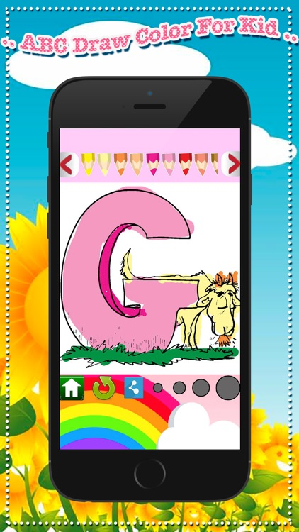 ! ABC Draw Color For Kid - step imagination by your screenshot-3