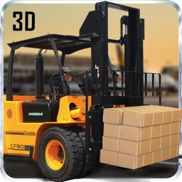 Construction Forklift Crane Driver 3D Simulator