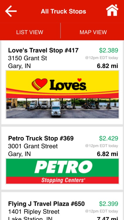 Find Truck Service & Stops screenshot-2