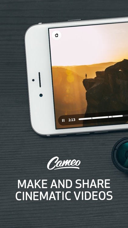 Cameo - Video Editor and Movie Maker screenshot-0