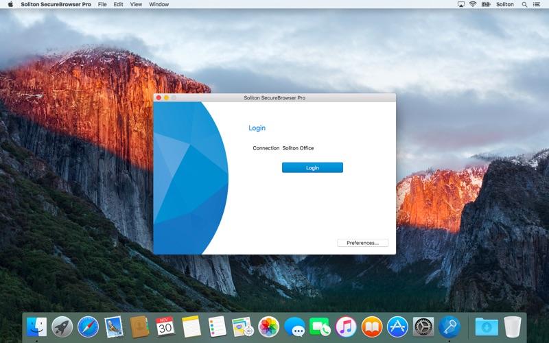 Soliton SecureBrowser Pro Screenshot