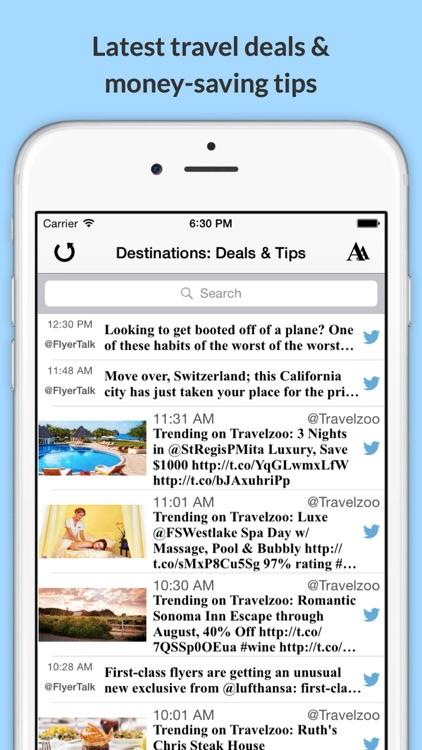 Destinations: Explore the World & Plan Your Next Trip! screenshot-4