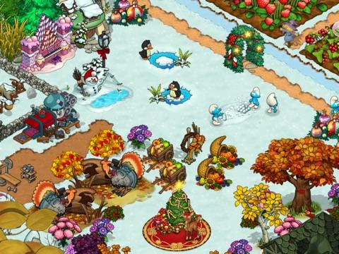 Скачать игру Smurfs' Village and the Magical Meadow