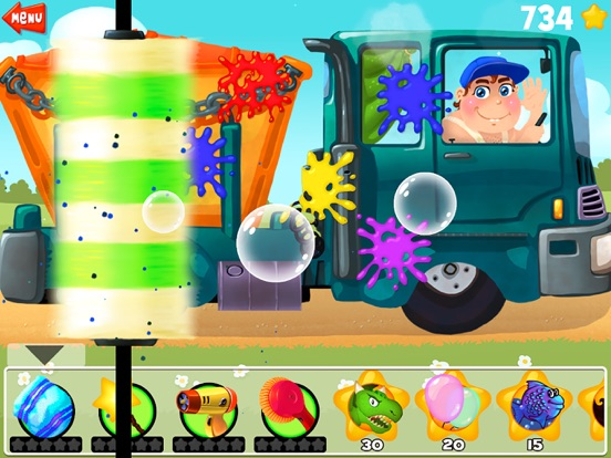 Amazing Car and Truck Wash - The free funny cars cleaning game for little kids and toddlers lite-ipad-1