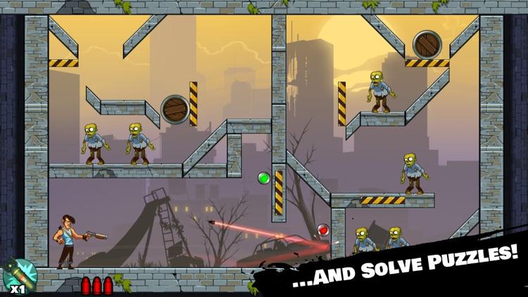 Stupid Zombies: Gun shooting fun with shotgun, undead horde and physics screenshot-4
