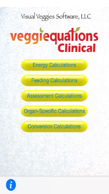 VeggiEquations Clinical