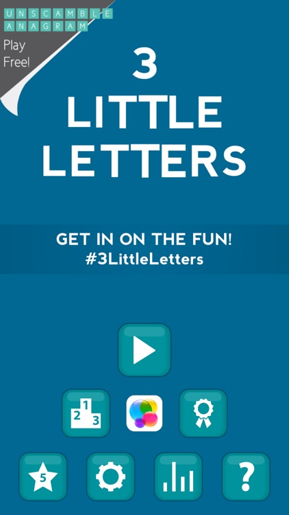 3 Little Letters - Unscramble Text to Find Words screenshot-4