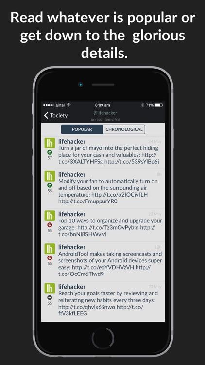 Tociety screenshot-4