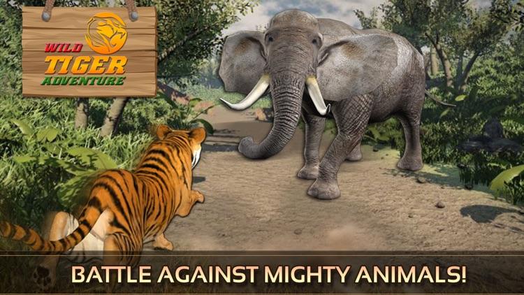 Wild Tiger Adventure 3D - Siberian Jungle Beast Animals Hunting Attack Simulator