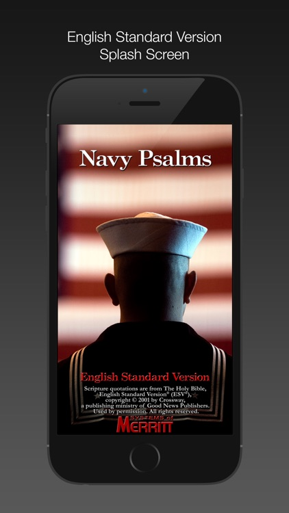 Navy Psalm Daily Quotes ESV screenshot-0