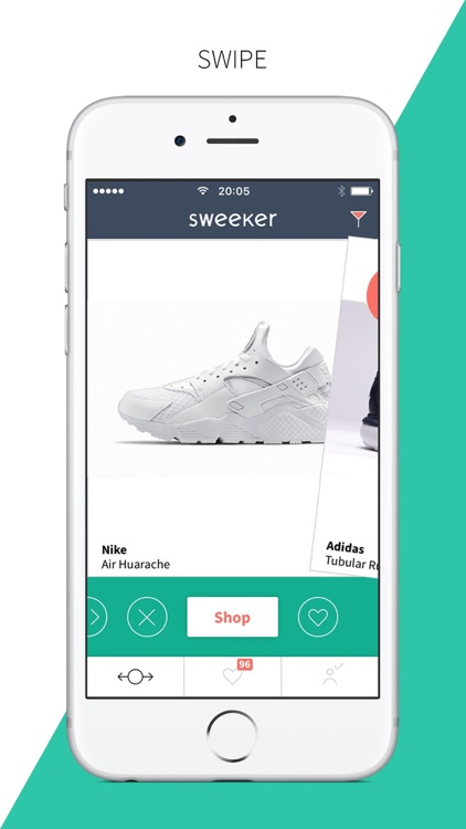 Sweeker - All Sneakers, One App. Find and Buy Shoes in the First Mobile Shopping App for Urban Footwear.