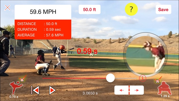Pitchman Radar Gun screenshot-0