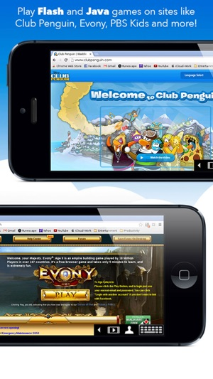 ‎VirtualBrowser for Chrome™ with Flash-browser, Java Player & Extensions -  iPhone Edition